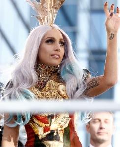 Lady Gaga amerikai énekesnő Los Angelesben 2010. szeptember 12-én