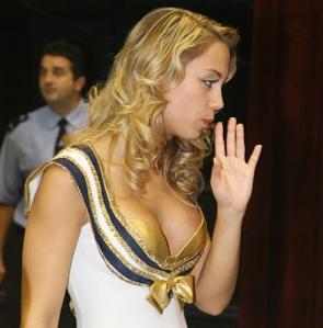 Kiss Ramóna magyar színésznő, a Barátok közt című sorozat egyik főszereplője