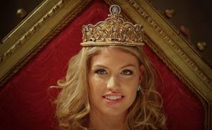 Gregori Dóra, a Miss Hungary 2010 szépségverseny győztese 2010. november 28-án