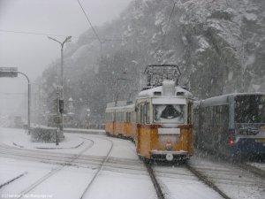 Téli táj Budapesten (Képünk illusztráció)