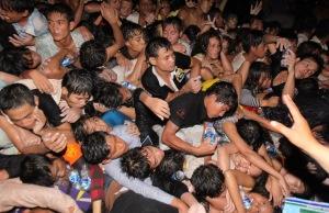Halálos katasztrófa a kambodzsai Phnom Penhben 2010. november 22-én
