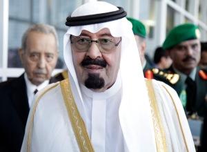 Abdallah szaúdi király Kanadában 2010 nyarán