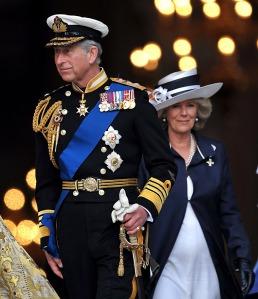 Károly walesi herceg, brit trónörökös és felesége, Camilla cornwalli hercegnő Londonban 2009. május 8-án
