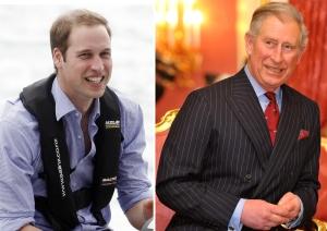 Vilmos herceg és édesapja, Károly walesi herceg, brit trónörökös