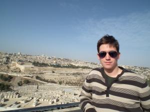 A blog főszerkesztője Jeruzsálemben - Mészáros Márton felvétele -