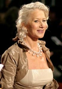 Helen Mirren Oscar-díjas brit színésznő kapta az Arany Medál-díj életműdíját 2010-ben