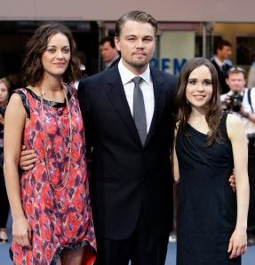 Marion Cotillard, Leonardo DiCaprio és Ellen Page az Eredet (Inception) című film főszereplői kapták az év szereplőgárdájának járó Arany Medál-díjat 2010-ben
