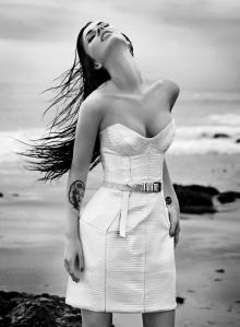 Megan Fox amerikai színésznő Alexei Hay amerikai fényképész felvételein 2010 decemberében