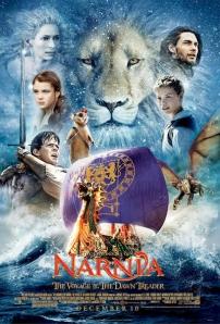 A Narnia Krónikái 3. - A Hajnalvándor útja (The Chronicles of Narnia: The Voyage of the Dawn Treader) című film plakátja