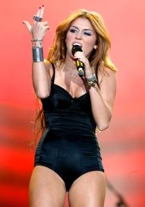 Miley Cyrus amerikai énekes-színésznő