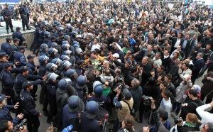 Változásokat követelő tüntetések Algériában 2011. február 19-én