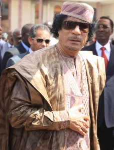 Moammer el-Kadhafi líbiai vezető