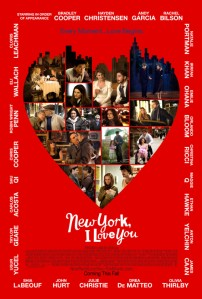 A New York, szeretlek! (New York, I Love You) című film plakátja