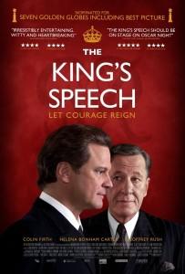 A király beszéde (The King's Speech) című film plakátja