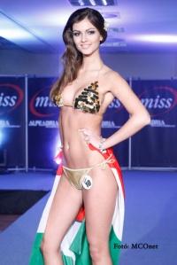 Barta Zsanett, a Miss Alpok-Adria szépségverseny győztese