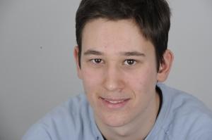 Mészáros Márton, a blog főszerkesztője Budapesten 2011. március 8-án