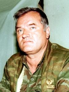 Ratko Mladic, a boszniai szerb hadsereg egykori főparancsnoka, a srebrenicai mészárlás elkövetője