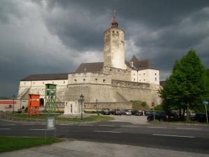Fraknó (Forchtenstein) vára 2011. április 29-én (Mészáros Márton felvétele)