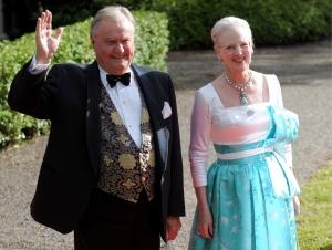 II. Margit dán királynő és férje, Henrik herceg