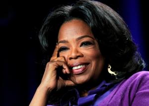 Oprah Winfrey amerikai televíziós műsorvezető