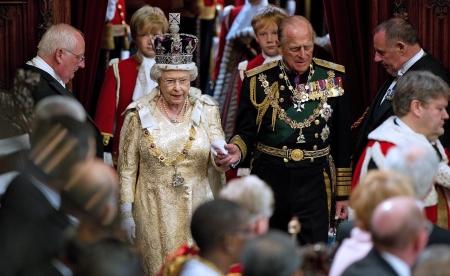II. Erzsébet brit királynő és férje, Fülöp edinburghi herceg
