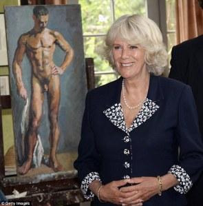 Camilla cornwalli hercegnő és az említett festmény