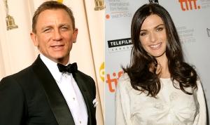 Daniel Craig brit színész és Rachel Weisz brit színésznő