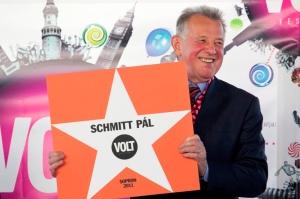 Schmitt Pál köztársasági elnök a soproni VOLT Fesztiválon 2011. június 29-én