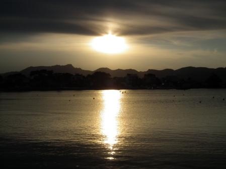 Naplemente Alcúdiában, Mallorca szigetén, 2011 - Mészáros Márton felvétele -