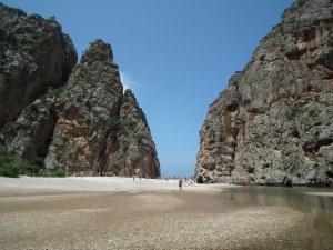 Európa második legnagyobb szurdoka, Sa Caloba közelről, Mallorca, 2011 - Mészáros Márton felvétele -