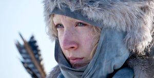 Saoirse Ronan ír színésznő a Hanna – Gyilkos természet című film egyik jelenetében