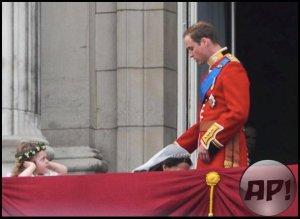 Katalin cambridge-i hercegnő és Vilmos, Cambridge hercege esküvőjük után 2011. április 29-én