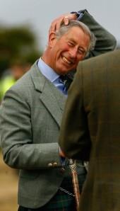 Károly walesi herceg, brit trónörökös Skóciában 2007-ben