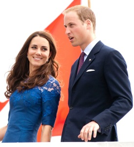 Vilmos brit herceg és neje Katalin hercegnő a kanadai Quebecben 2011. július 3-án