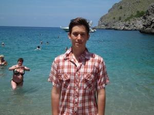 Mészáros Márton főszerkesztő Mallorca szigetén 2011. június 18-án
