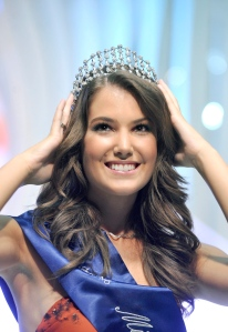 Szunai Linda, a 2011-es Miss Hungary Budapesten 2011. július 14-én