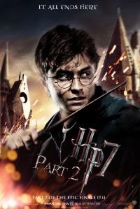 A Harry Potter és a Halál Ereklyéi II. rész plakátja