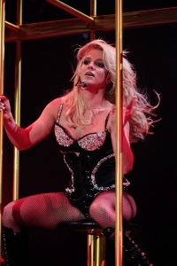 Britney Spears amerikai énekesnő koncertet ad Floridában 2009. március 8-án