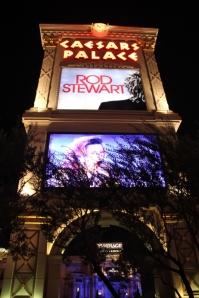 Itt ma este Rod Stewart fog fellépni, Caesars Palace, Las Vegas (Mészáros Márton felvétele)