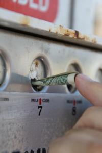 A helyes fizetés módja parkolás után San Diegóban (Mészáros Márton felvétele)