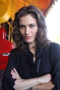 Bordán Lili hollywoodi magyar színésznő Los Angelesben 2011. szeptember 3-án (Mészáros Márton felvétele)