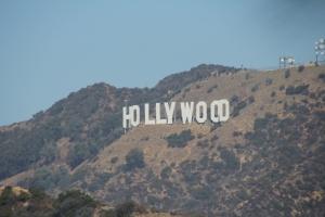A Hollywood felirat Los Angelesben (Mészáros Márton felvétele)