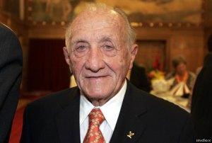 Tarics Sándor magyar olimpikon, építészmérnök a világ legidősebb olimpiai bajnoka