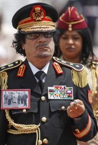 Moammer el-Kadhafi volt líbiai diktátor (1942-2011)