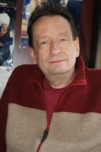 Karinthy Márton színigazgató-rendező, író, Karinthy Frigyes unokája az általa alapított Karinthy Színházban Budán 2011. október 9-én (Fotó: Mészáros Márton)