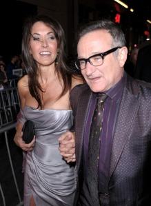 Robin Williams amerikai színész és barátnője, Susan Schneider most házasodtak össze