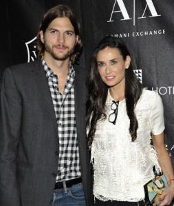 Ashton Kutcher és Demi Moore amerikai színészek