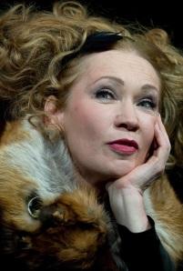 Udvaros Dorottya Kossuth-díjas magyar színésznő a Kvartett című darabban a Nemzeti Színházban (Budapest, 2011 január)