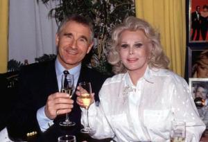 Frederich von Anhalt herceg és neje, Gábor Zsazsa magyar származású hollywoodi színésznő