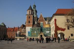 A Wawel-székesegyház Krakkóban (Fotó: Mészáros Márton)